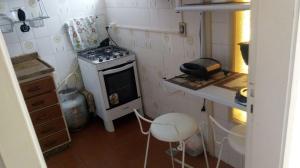 Een keuken of kitchenette bij Parque Burle, Cabo Frio