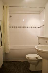 A bathroom at 1 Bedroom Apartment by The Shore Area of Leith Sleeps 2