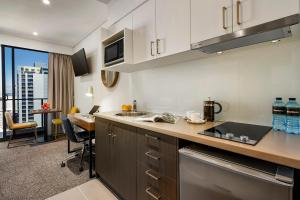 A kitchen or kitchenette at Quest East Perth