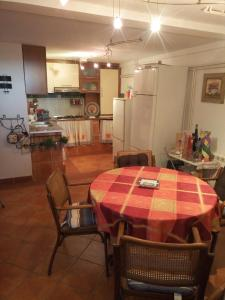 A kitchen or kitchenette at Kamenjar Vacation House
