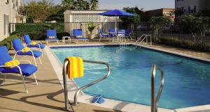 The swimming pool at or near TownePlace Suites by Marriott Houston NASA/Clear Lake