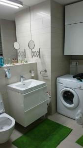 A bathroom at U Michelského mlýna 1