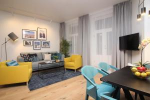 Istumisnurk majutusasutuses Tallinn City Apartments Old Town Suites