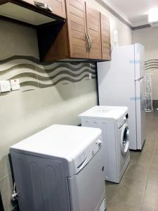 Arkan Residence tesisinde mutfak veya mini mutfak