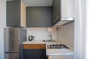 A kitchen or kitchenette at Hasmik's cool apartment