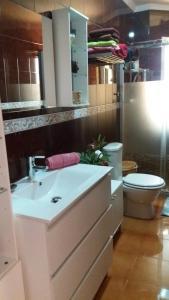 A bathroom at Ancora