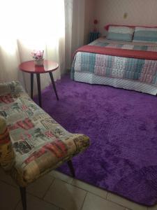 A bed or beds in a room at Casa de Bonito
