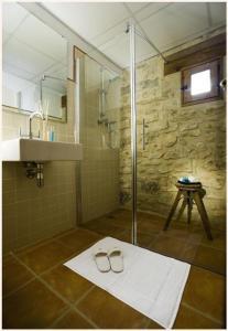 Un baño de Apartamentos Doña Candida