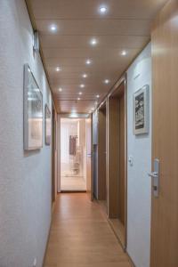 Lobby/Rezeption in der Unterkunft Ferienwohnung im Fürstenland