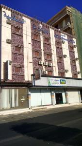 הבניין של מלון הדירות