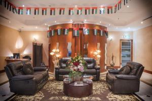 Лоби или рецепция в La Villa Najd Hotel Apartments