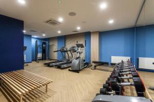 Centrum fitness w obiekcie Brzezicki Apartament Centrum