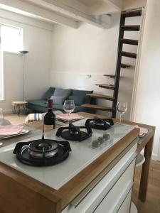 Een keuken of kitchenette bij Mooi Genieten
