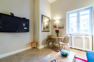 A television and/or entertainment center at Westbourne Gardens by Lime Street