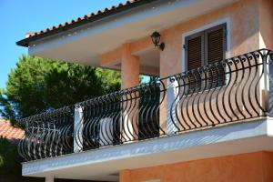 A balcony or terrace at Residence Anna