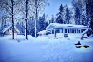 Villa Aurela during the winter