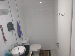 A bathroom at Ap Lagoa