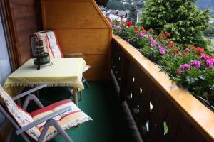 A balcony or terrace at Haus Franziska