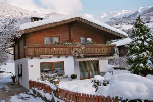 Haus Franziska during the winter