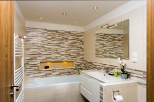 Kúpeľňa v ubytovaní Splendid Central Home