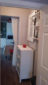 A bathroom at Auburn Studio Apartment