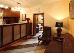 The lobby or reception area at Anyday Apartments