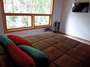 Una cama o camas en una habitación de Beruchka Home