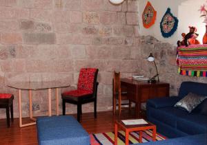 Zona de estar de Casa Bitoque
