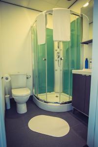 Salle de bains dans l'établissement Woonhotel Petruskerk