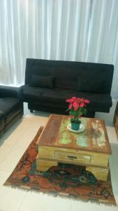 A seating area at Apartamento Guaruja Vacanze