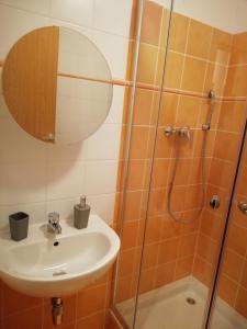 Kúpeľňa v ubytovaní Apartmán Almet 102