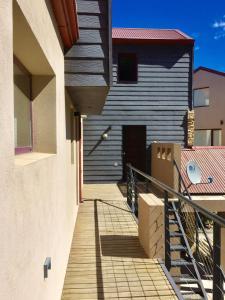 Un balcón o terraza en Departamentos Vistas al Chapelco