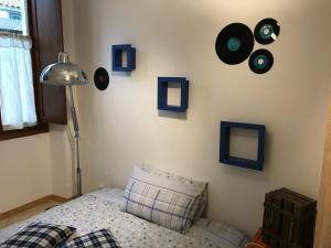 A bed or beds in a room at Casa Mojito o Chupito