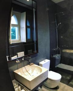 A bathroom at A Capela