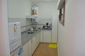 Una cocina o kitchenette en Departamento Ciudad De Santa Rosa