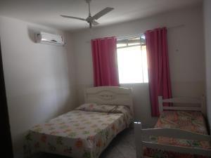 Cama o camas de una habitación en Casa para temporada