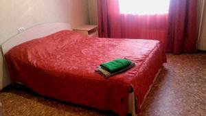 Кровать или кровати в номере Лермонтова 11