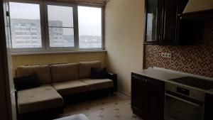 Гостиная зона в Apartments Avrora, Gagarina 75