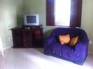 A seating area at Casa Ilhéus Zona Sul