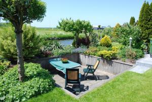 A garden outside B&B PolderPoort