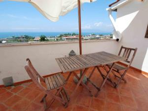 A balcony or terrace at Locazione turistica Enchanting View