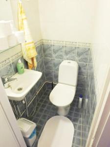 Kylpyhuone majoituspaikassa Two bedroom apartment in Kotka, Ruukinkatu 11 (ID 9016)
