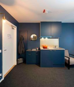 Cuisine ou kitchenette dans l'établissement Stockholm Hotel Apartments Bromma