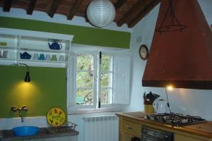 Cucina o angolo cottura di Casa Verde