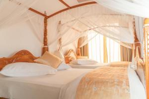 Un ou plusieurs lits dans un hébergement de l'établissement Tea Hills Bungalow