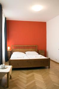 Ένα ή περισσότερα κρεβάτια σε δωμάτιο στο Ai Quattro Angeli