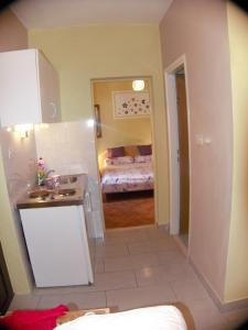 A kitchen or kitchenette at Apartments Pavlić