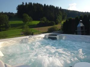 Der Swimmingpool an oder in der Nähe von Residenza San Remy