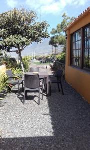 Een patio of ander buitengedeelte van Casa Digna