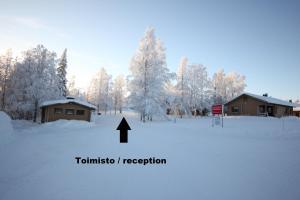 Matkailumaja Heikkala Cottages žiemą